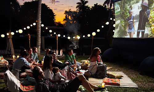 New Service : Outdoor Movie Night rentals for the ultimate Outdoor Cinema  experience! - X-Treme AudioVisual
